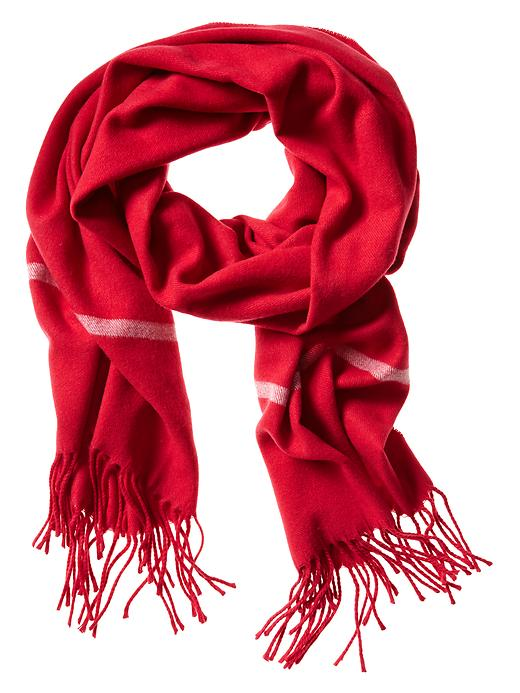 Banana Republic Framed Scarf - Red 1 - Banana Republic Canada