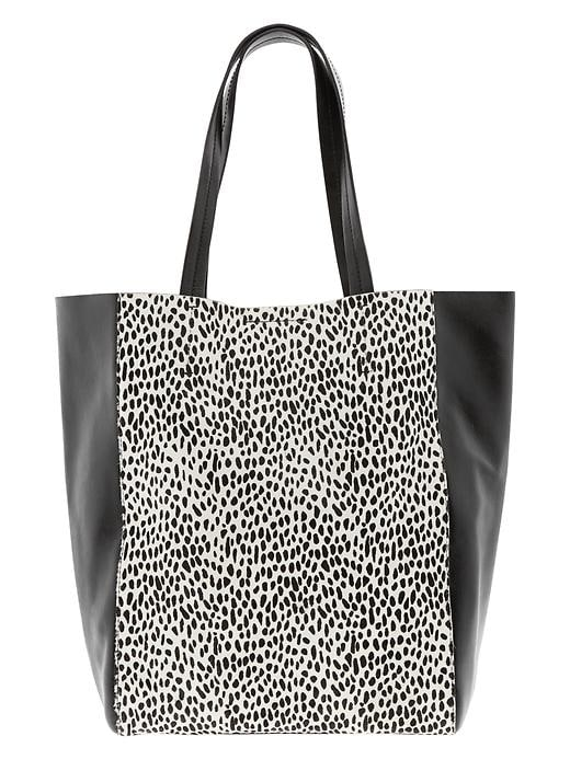 Banana Republic Ashbury Exotic Tote - Ocelot - Banana Republic Canada