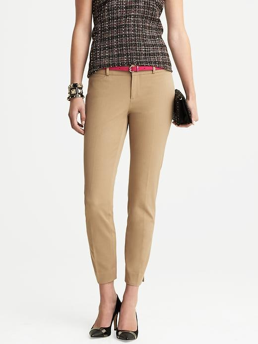 Banana Republic Sloan Fit Slim Ankle Pant - Mojave beige - Banana Republic Canada