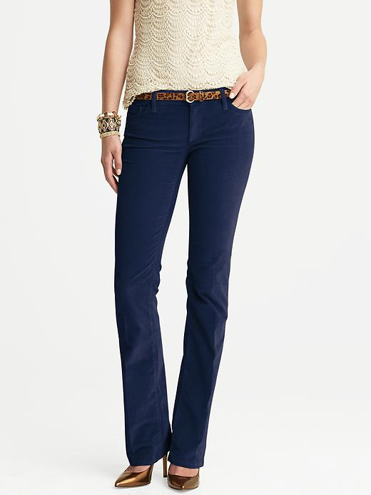 Banana Republic Cord Trouser - Classic navy - Banana Republic Canada