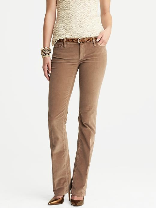Banana Republic Cord Trouser - Mojave - Banana Republic Canada