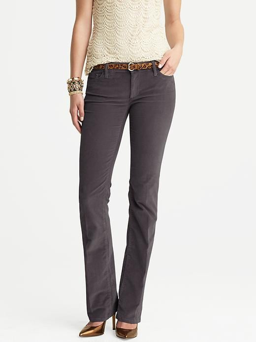 Banana Republic Cord Trouser - Dark charcoal - Banana Republic Canada