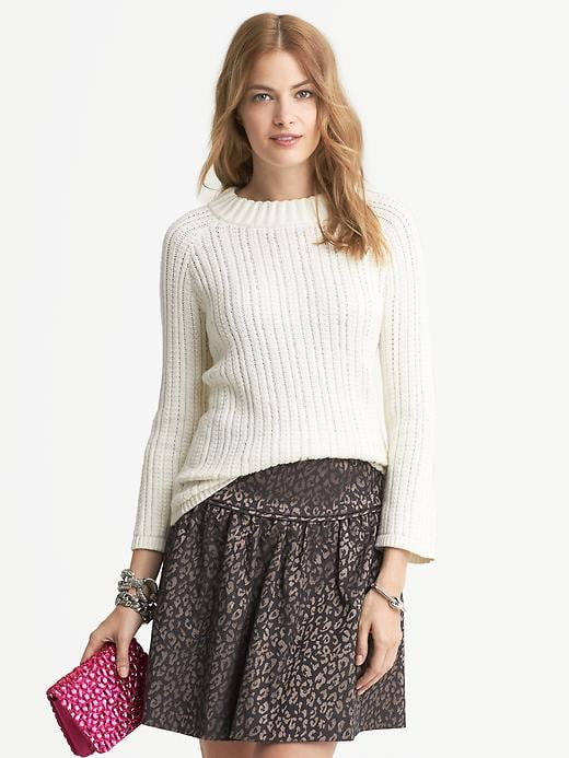 Banana Republic Beaded Pullover - Cream - Banana Republic Canada
