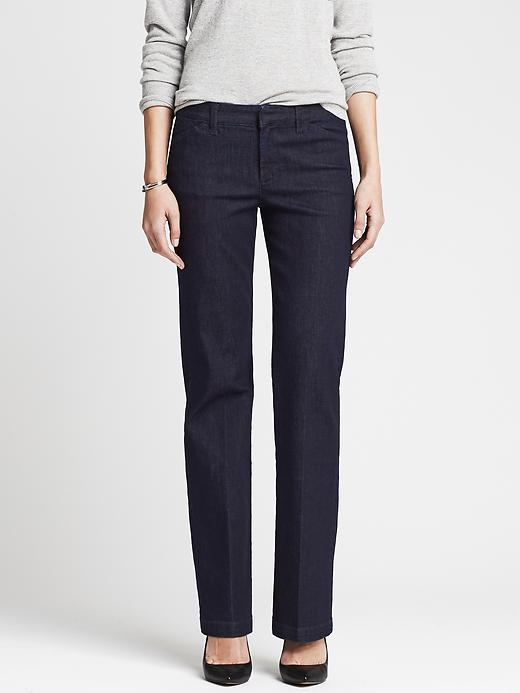 Banana Republic Denim Trouser - Dark wash - Banana Republic Canada