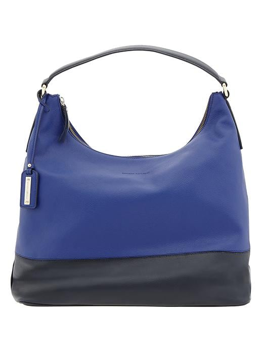 Banana Republic Parkside Hobo - Cobalt blue - Banana Republic Canada