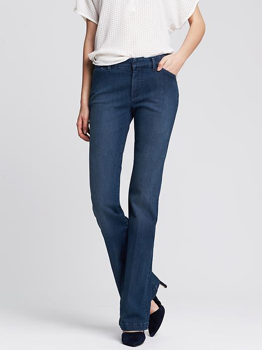 Banana Republic Denim Trouser - Medium wash - Banana Republic Canada