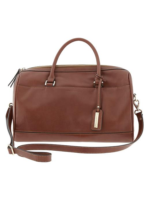 Banana Republic Parkside Satchel - Cognac - Banana Republic Canada