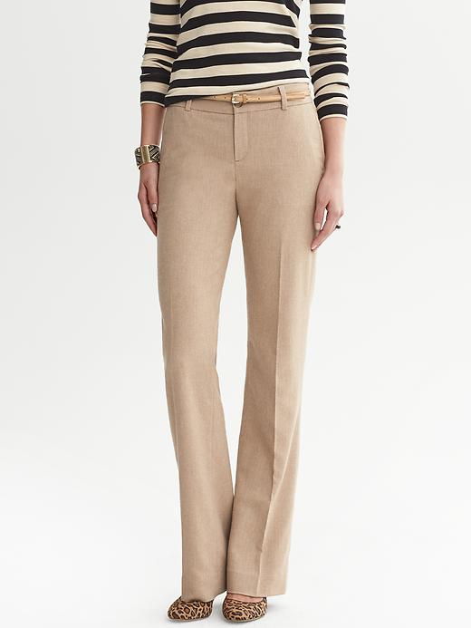 Banana Republic Martin Fit Camel Herringbone Trouser - Camel - Banana Republic Canada