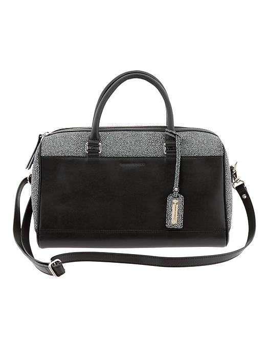 Banana Republic Parkside Satchel - Black - Banana Republic Canada