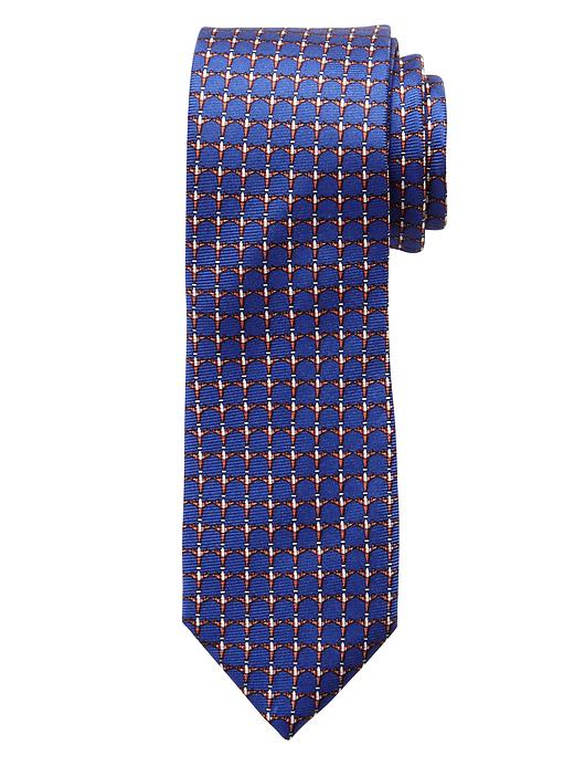 Banana Republic Airplane Print Silk Tie - Blue - Banana Republic Canada