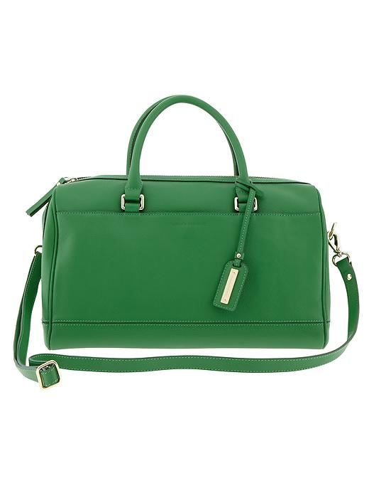 Banana Republic Parkside Satchel - Emerald - Banana Republic Canada
