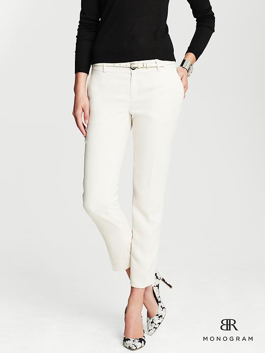 BR Monogram - Soft ivory - Banana Republic Canada