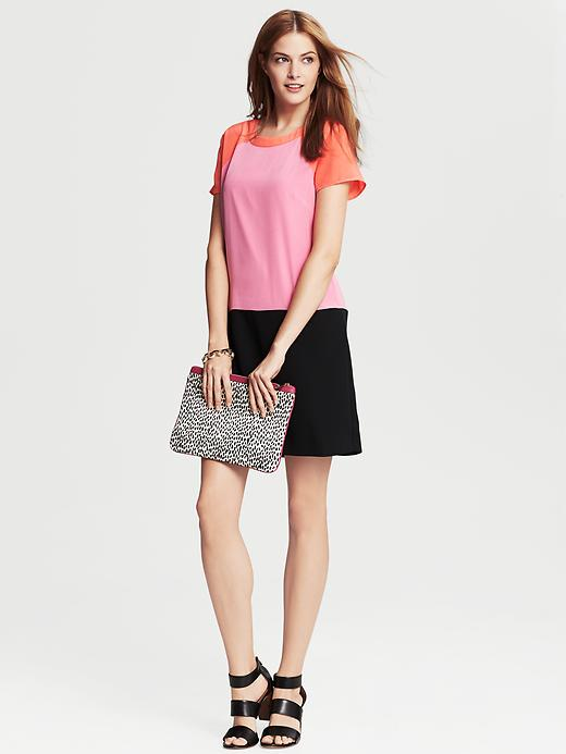 Banana Republic Colorblock Shift - Executive pink - Banana Republic Canada
