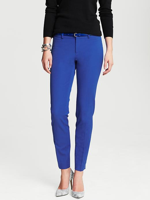 Banana Republic Sloan Fit Slim Ankle Pant - Tanzanite gem - Banana Republic Canada