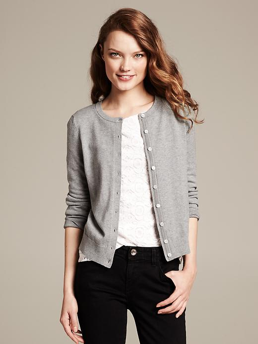 Banana Republic Anna Cardigan - Gray literature - Banana Republic Canada