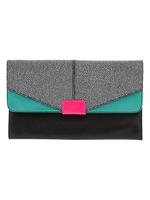 Banana Republic Joan Clutch - Black - Banana Republic Canada
