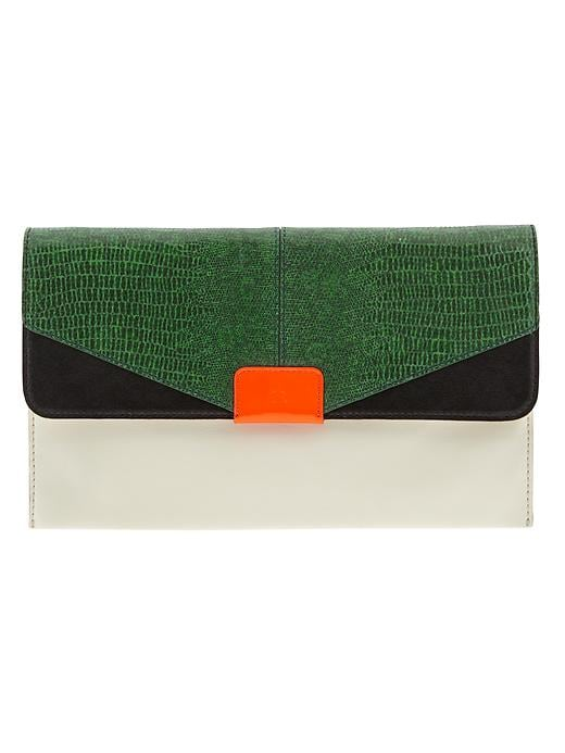 Banana Republic Joan Clutch - Kelly green - Banana Republic Canada