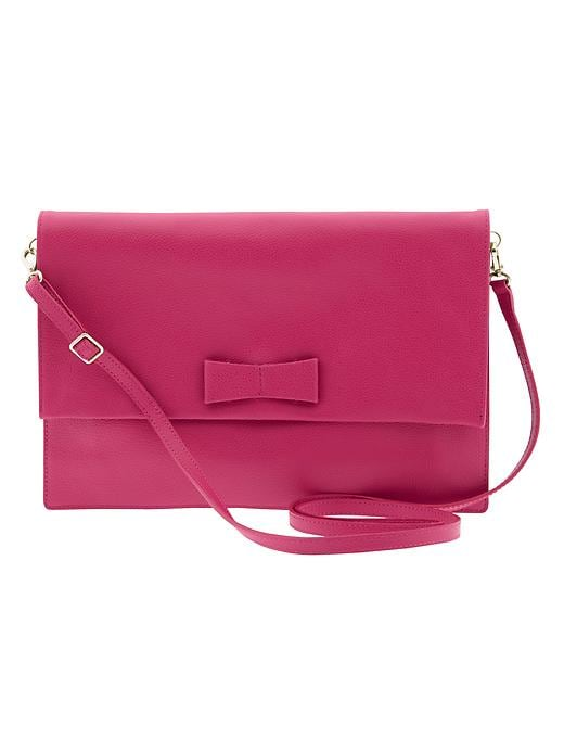 Banana Republic Hilary Clutch - Fuschia - Banana Republic Canada