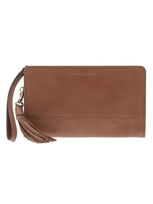 Banana Republic Parkside Wallet - Cognac - Banana Republic Canada