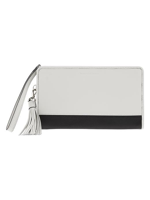 Banana Republic Parkside Wallet - Bone - Banana Republic Canada