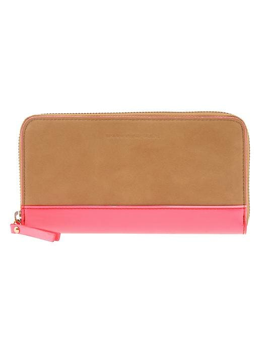 Banana Republic Sophia Wallet - Saddle - Banana Republic Canada