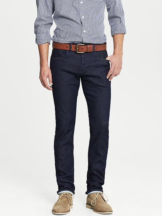 Banana Republic Slim Fit Indigo Jean - True indigo - Banana Republic Canada