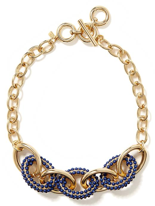 Banana Republic Poppy Link Necklace - Gold - Banana Republic Canada