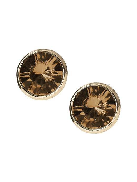 Banana Republic Circle Stud Earring - Topaz - Banana Republic Canada