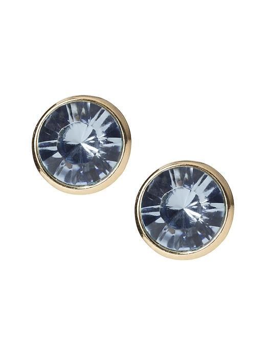 Banana Republic Circle Stud Earring - Light blue - Banana Republic Canada