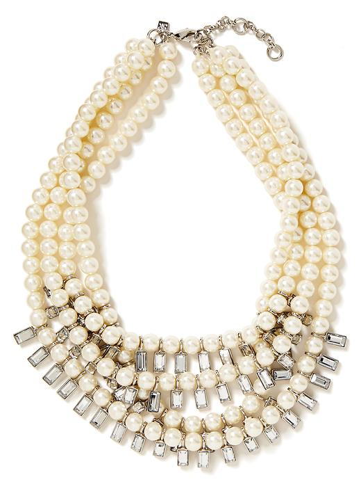 Banana Republic Tutti Frutti Bauble Necklace - Pearl - Banana Republic Canada
