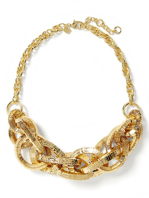 Banana Republic Glimmer Glamour Statement Necklace - Gold - Banana Republic Canada