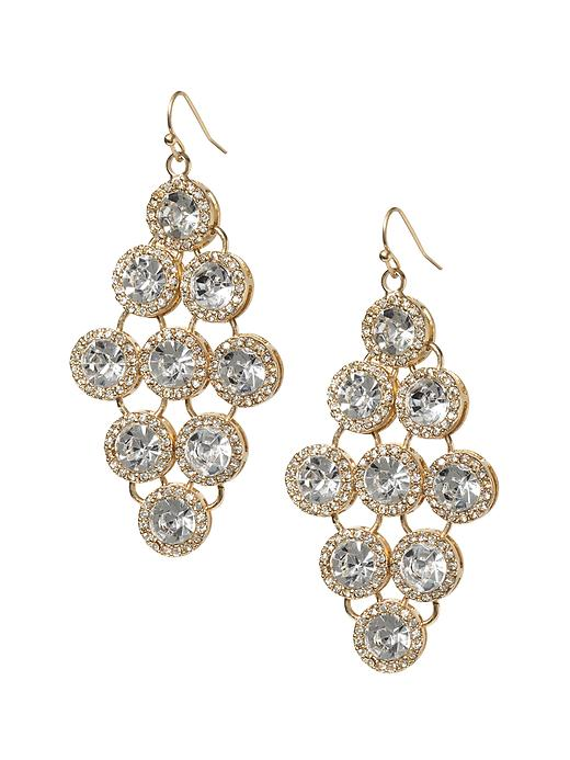 Banana Republic Statement Crystal Chandelier Earring - Clear crystal - Banana Republic Canada