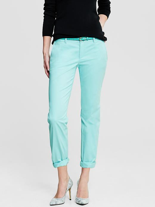 Banana Republic Roll Up City Chino - Fresh blue - Banana Republic Canada