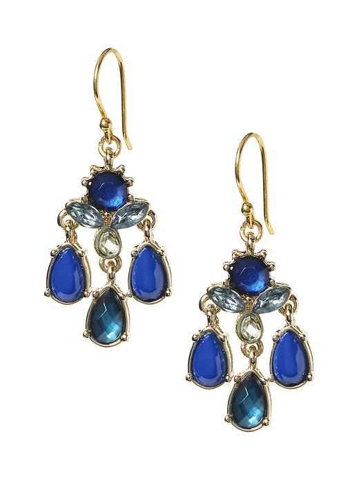Banana Republic Statement Chandelier Earring - Blue - Banana Republic Canada