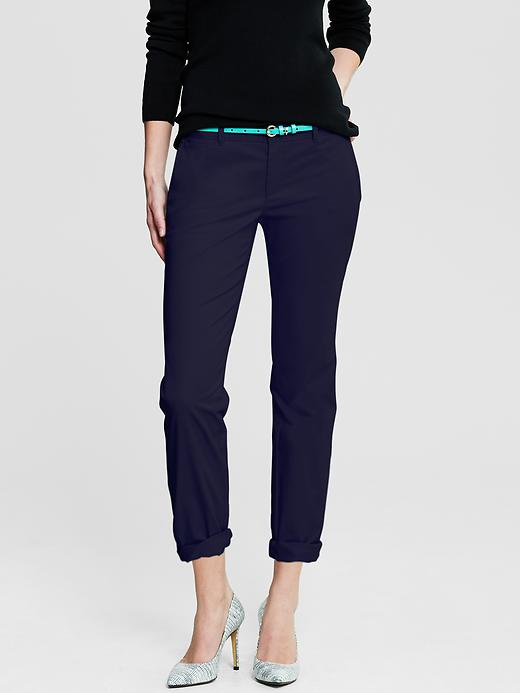 Banana Republic Roll Up City Chino - Fall navy - Banana Republic Canada