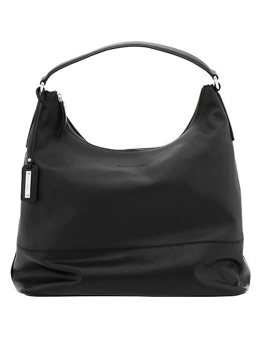 Banana Republic Parkside Hobo - Black - Banana Republic Canada