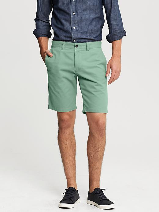 Banana Republic Aiden Slim Fit Short - Green - Banana Republic Canada