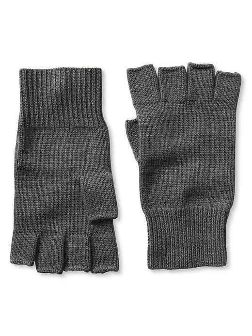 Extra-fine Merino Wool Fingerless Gloves