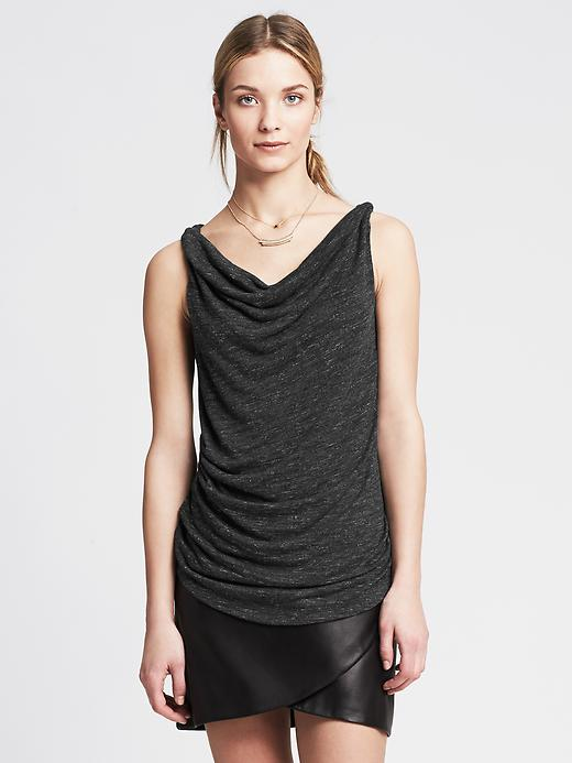 Textured twisted cowl tank