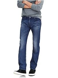 Slim Medium Tinted Japanese Traveler Jean