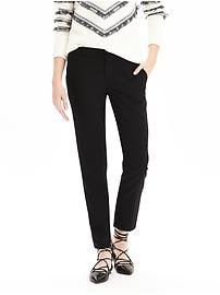 Avery Straight-Fit Lightweight Wool Pant