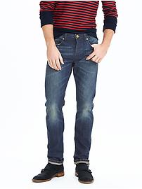 Slim Indigo Wash Selvedge Jean
