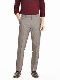 Standard Non Iron Brown Pant