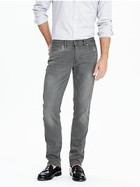 Skinny Grey Japanese Traveler Jean