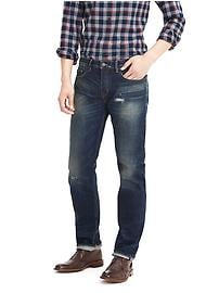 Straight Rugged White Oak Selvedge Jean