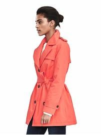 Belted Cotton Trench