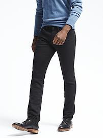 Skinny Black Rinse Jean