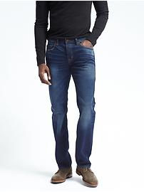 Straight Dark Wash White Oak® Selvedge Jean