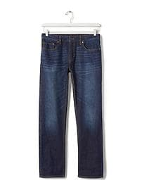 Straight Medium Wash Jean