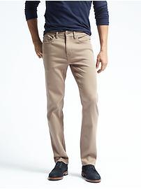 Slim Khaki Traveler Jean